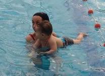 Clases de natación para bebés - Matrontación